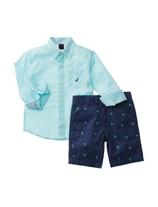 Nautica 2-pc. Shirt & Shorts Set - Toddler Boys