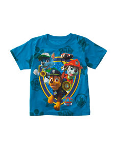Nickelodeon Paw Patrol All Over Shield T-Shirt - Toddler Boys