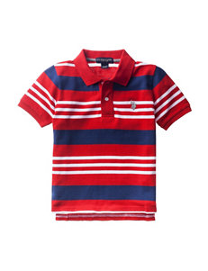 U.S. Polo Assn. Pique Polo Shirt - Toddler Boys
