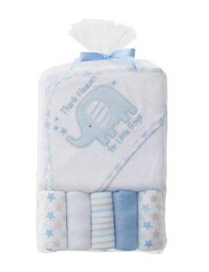 Baby Gear Blue Hooded Towels