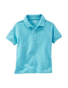 Oshkosh B'Gosh Turquoise Polos