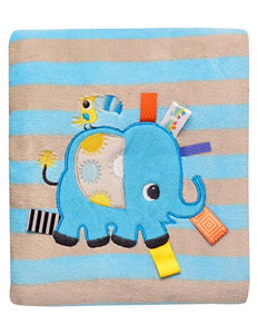 Baby Starters Taggies Elephant Blanket