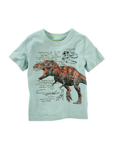 Oshkosh B'Gosh Green Tees & Tanks