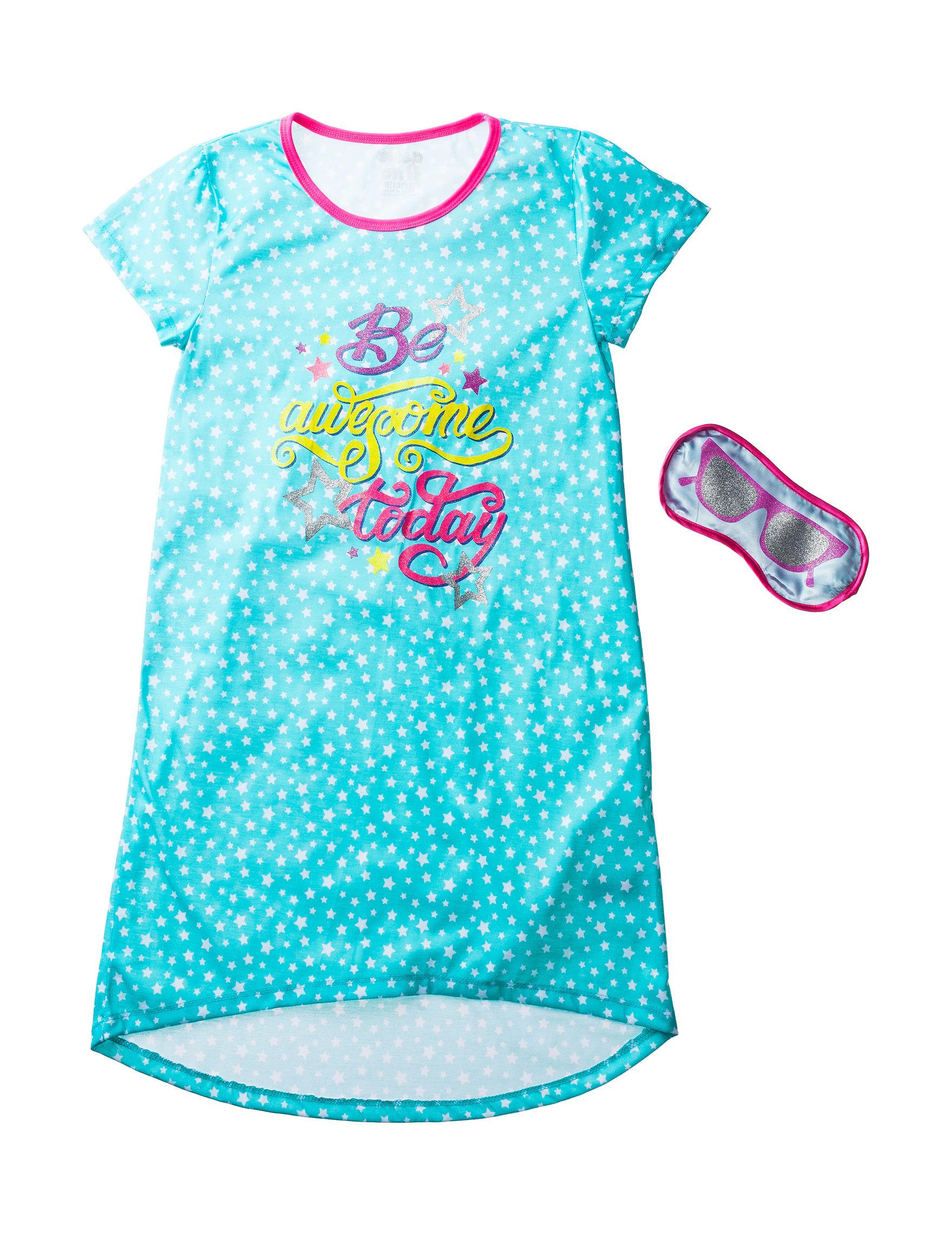 Cloud Nine Blue Nightgowns & Sleep Shirts