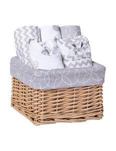 Trend Lab Grey / White Baskets
