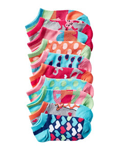 La De Da Rinse Indigo Socks