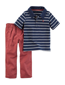 Carter's 2-pc. Polo & Pants Set - Baby 3-24 Mos.