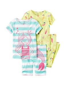 Carter's 4-pc. Mermaid Pajama Set - Toddler Girls