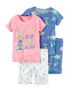 Carter's 4-pc. Hula Pajama Set - Girls 4-8