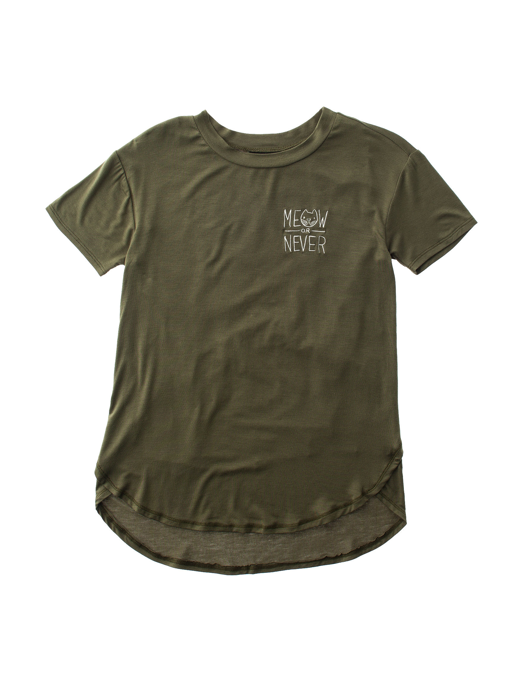 Miss Chevious Olive Tees & Tanks