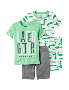 Carter's 4-pc. Later Gator Pajama Set - Boys 4-8