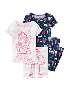Carter's 4-pc. Princess Pajama Set - Toddler Girls
