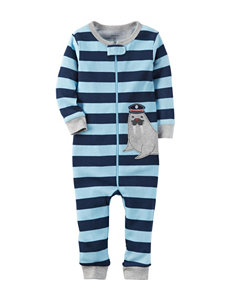 Carter's Walrus Appliqué Coveralls - Toddler Boys