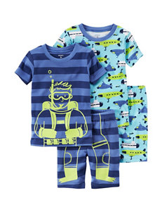 Carter's 4-pc. Scuba Diver Pajama Set - Boys 4-8