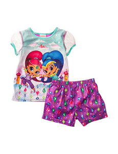 Nickelodeon 2-pc. Shimmer & Shine Pajama Set - Girls 4-8