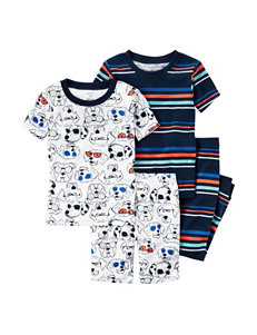 Carter's 4-pc. Dog Print Pajama Set - Toddler Boys