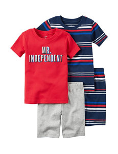 Carter's 4-pc. Mr. Independent Pajama Set - Boys 4-8