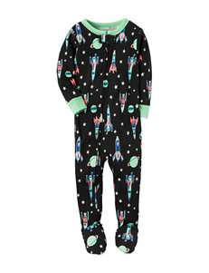 Carter's Space Print Sleep & Play - Toddler Boys