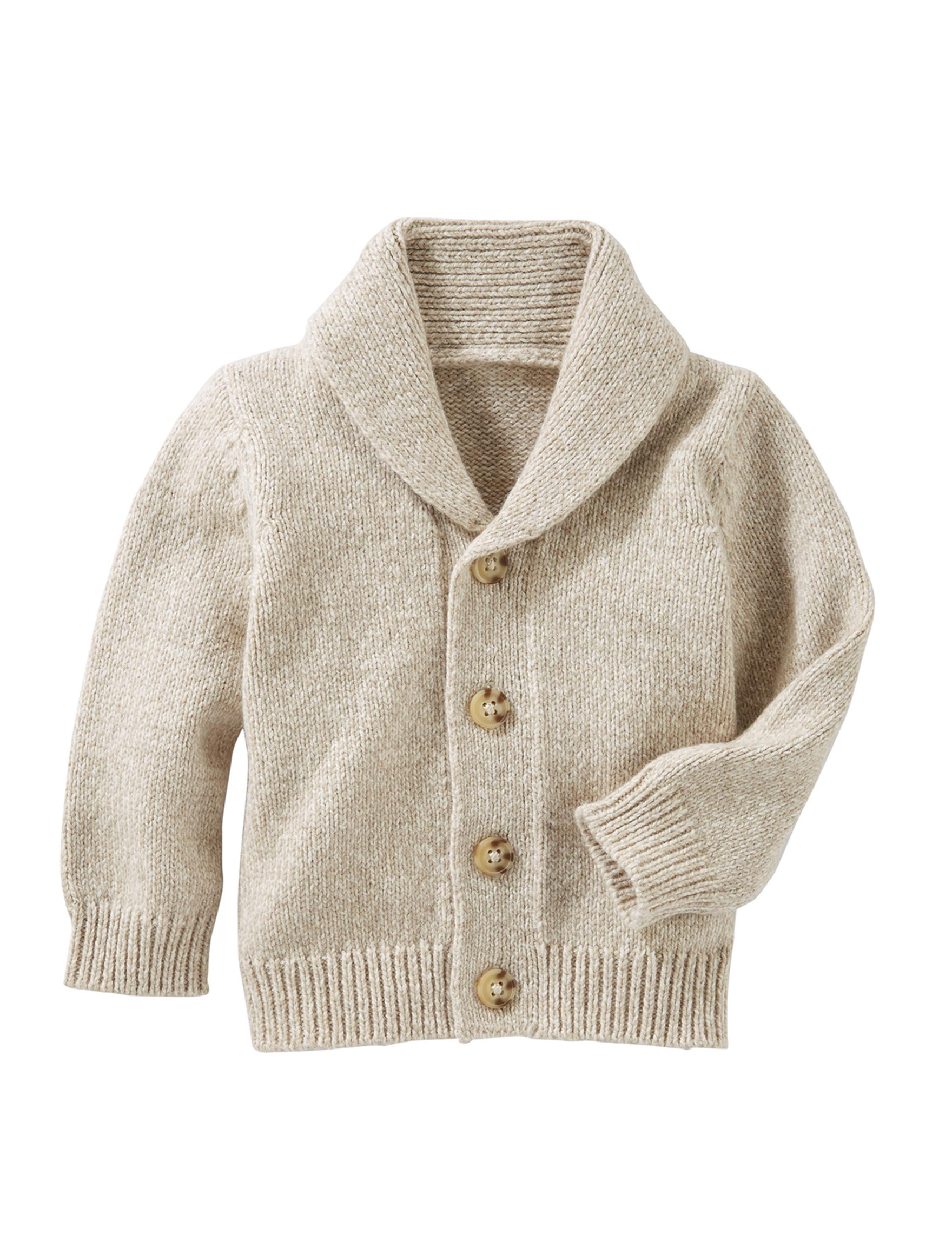 Oshkosh B'Gosh Beige Sweaters