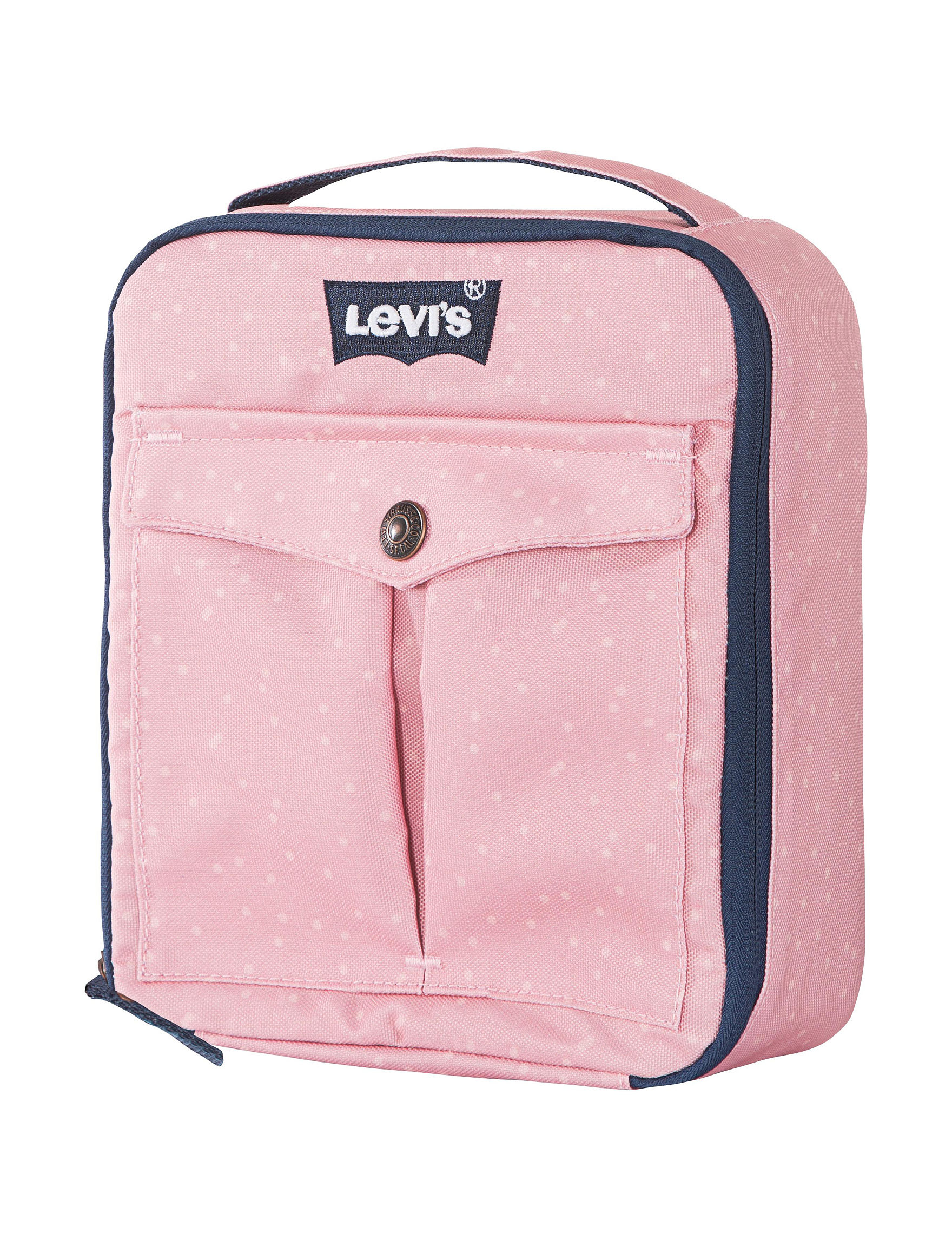 Levi's Blush Lunch Boxes & Bags Bookbags & Backpacks