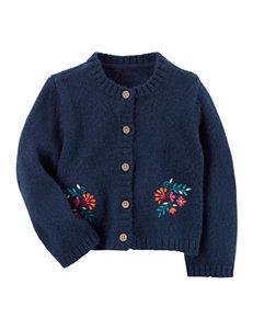 Carter's Navy Sweaters