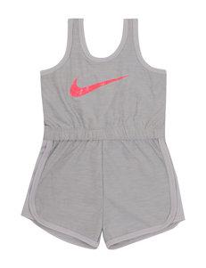 Nike White Stretch