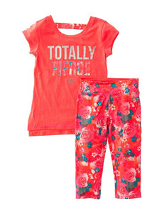 RBX 2-pc. Totally Fierce Top & Leggings Set with Headband - Girls 4-6x