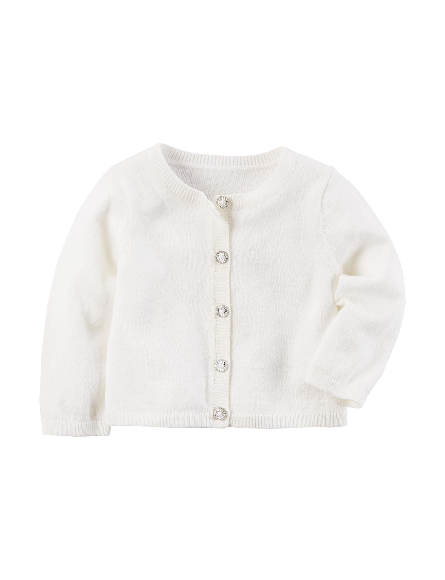 Carter's Ivory Sweaters