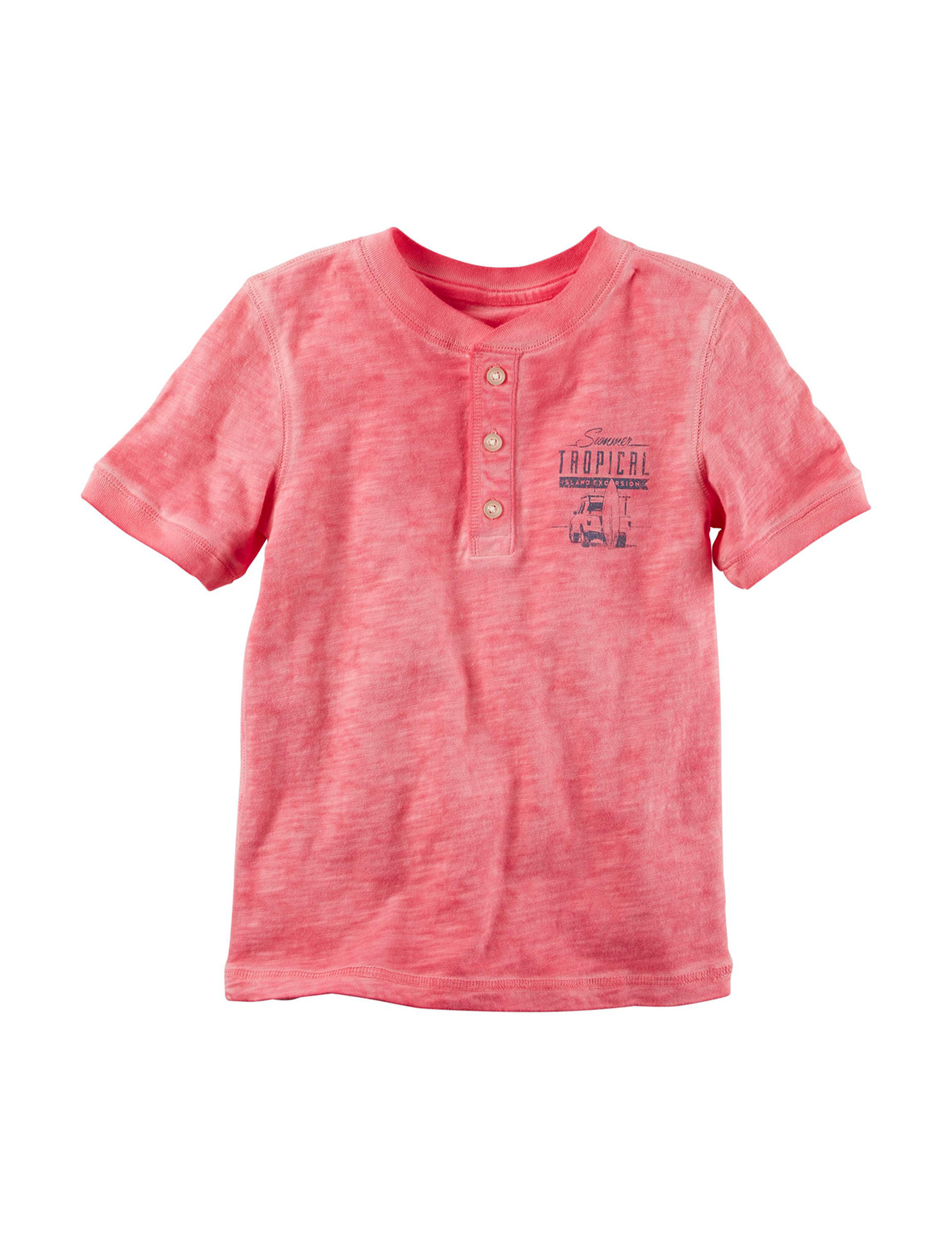 Carter's Pink Tees & Tanks
