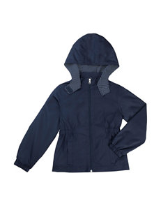 French Toast Cinched Jacket - Girls 7-16