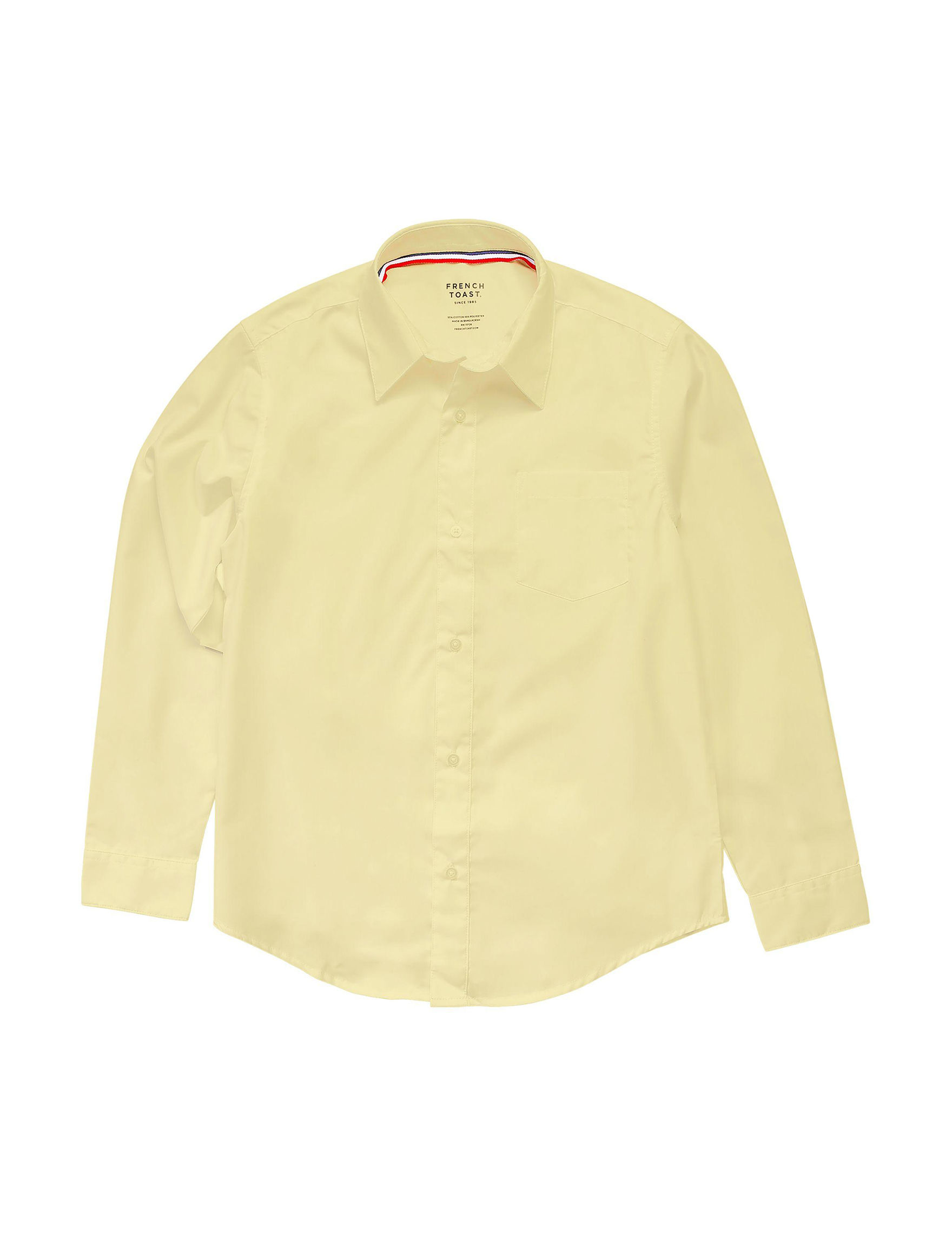French Toast Yellow Shirts & Blouses
