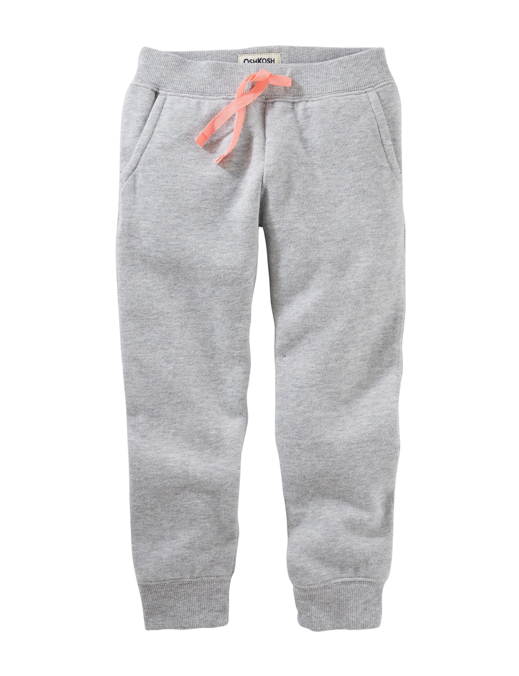 Oshkosh B'Gosh Heather Grey Soft Pants