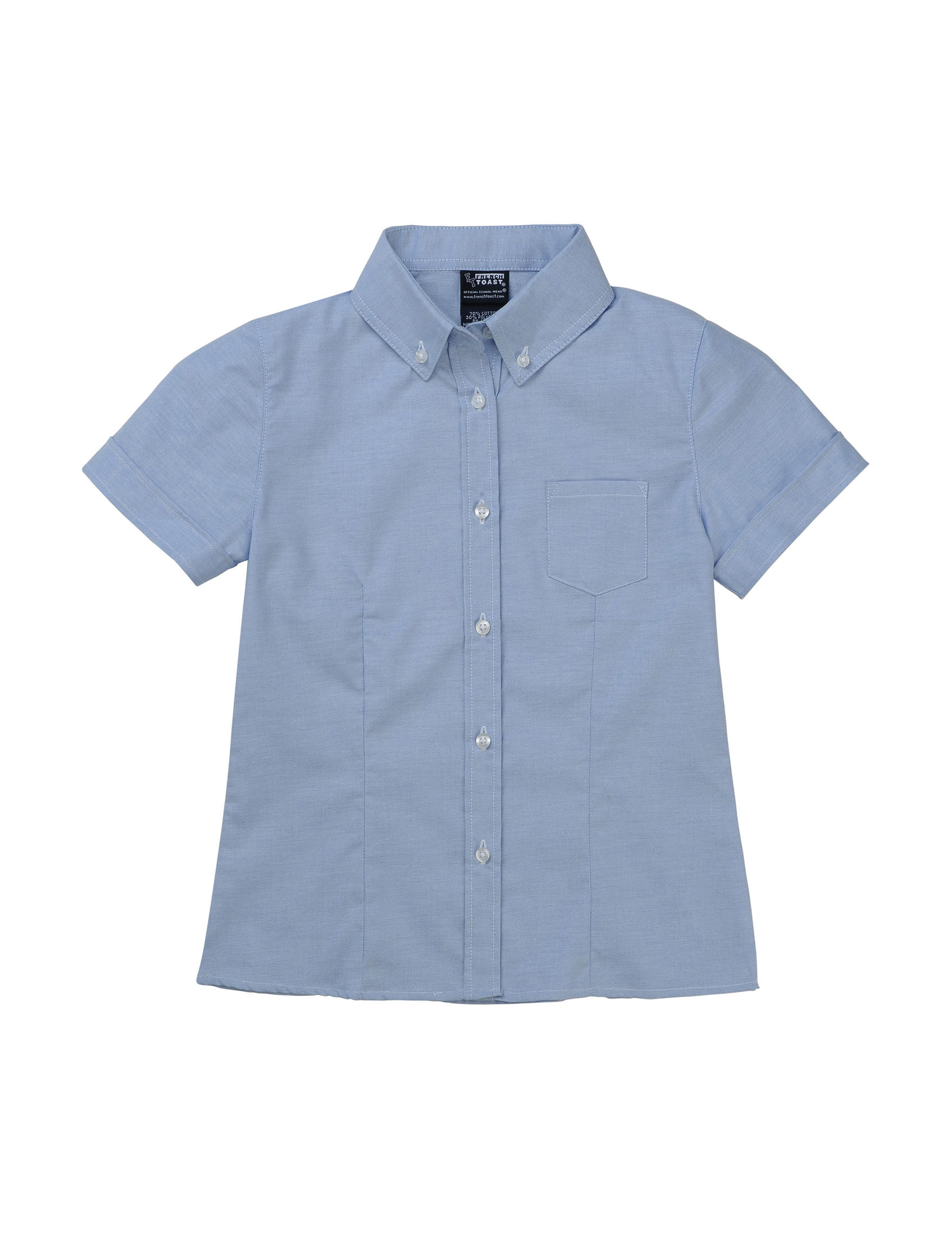 French Toast Blue Shirts & Blouses
