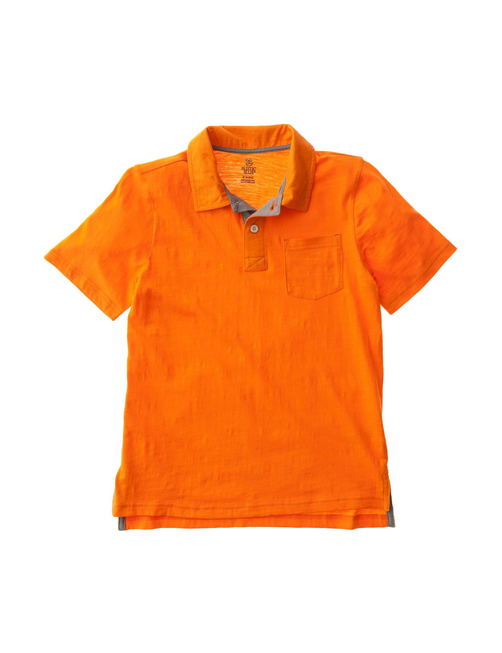 Rustic Blue Orange