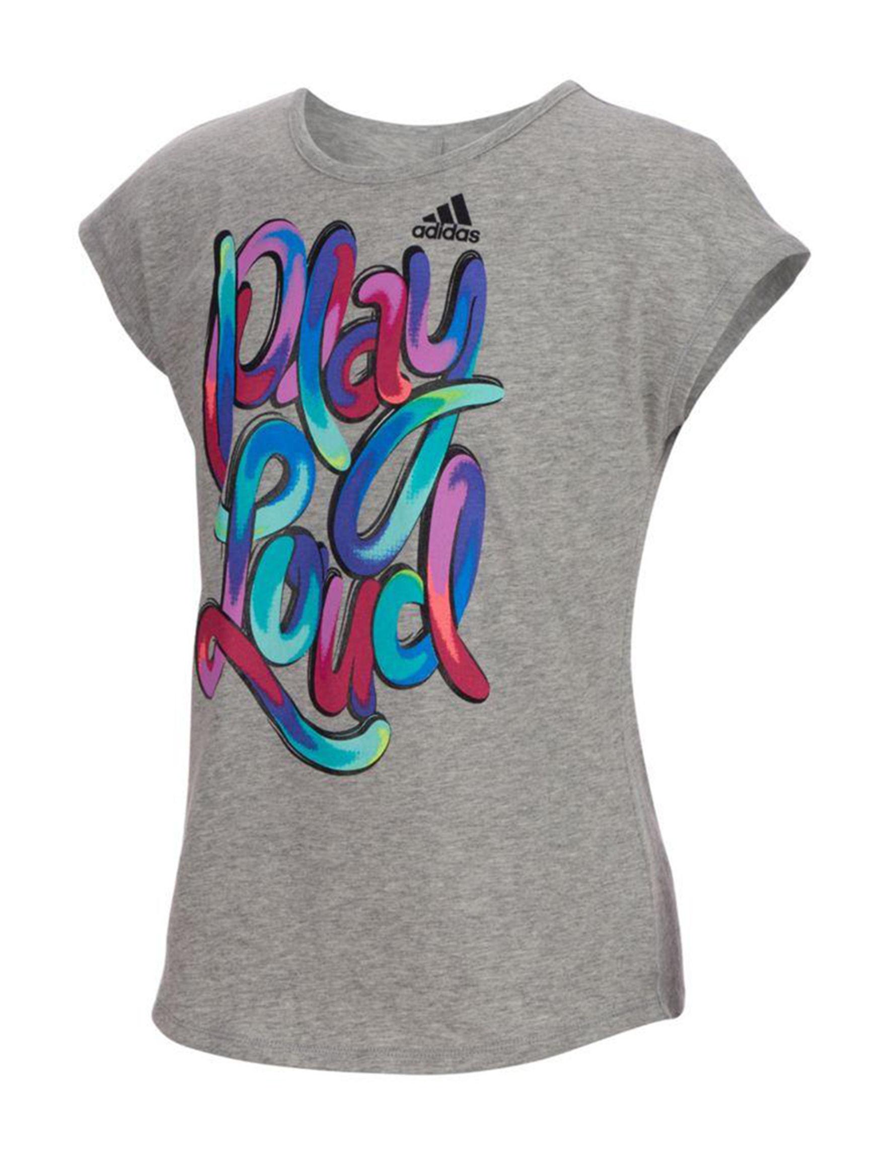 Adidas Heather Grey Stretch