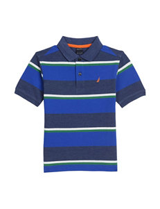 Nautica Stripe Print Polo Shirt - Boys 8-20