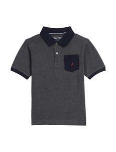 Nautica Solid Polo Shirt - Boys 8-20