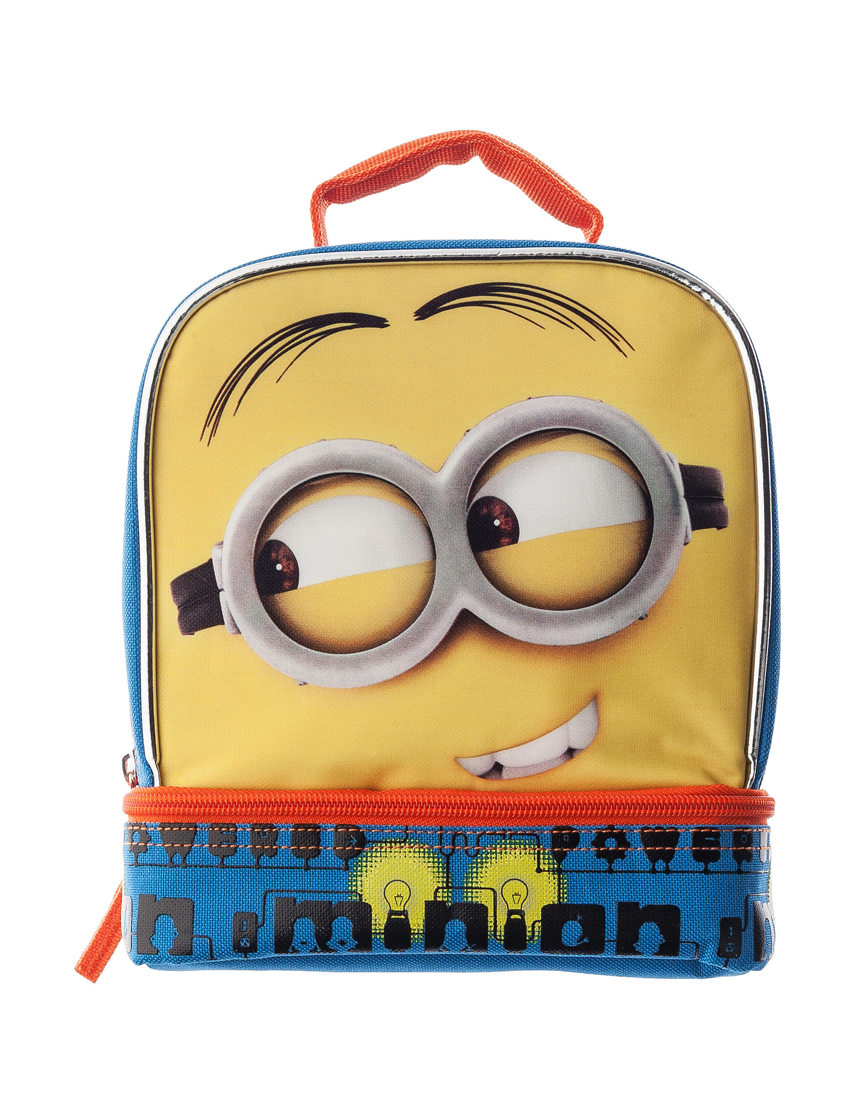Licensed Blue Lunch Boxes & Bags Kitchen Storage & Organization