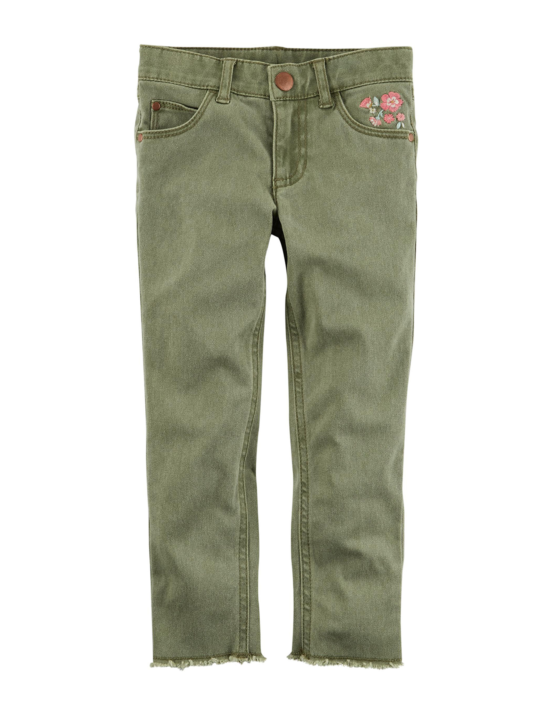 Carter's Olive Straight