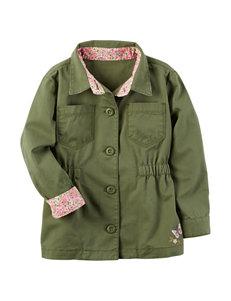 Carter's Embroidered Anorak Jacket - Toddler Girls