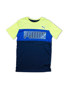 Puma Color Block T-shirt - Boys 4-7