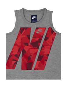 Nike Large Text Muscle Tank - Boys 4-7