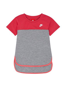 Nike Heather Grey Tees & Tanks