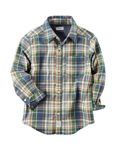 Carter's Plaid Woven Top - Boys 5-8