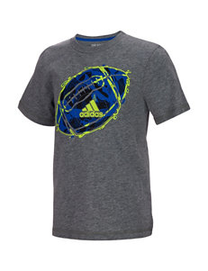 adidas Dynamic Football T-shirt - Toddlers & Boys 4-7x