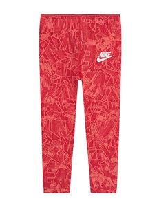 Nike Red Leggings