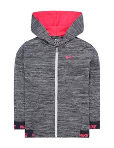 Nike Grey Fleece & Soft Shell Jackets