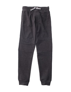 Rustic Blue Knit Moto Jogger Pants - Boys 8-20