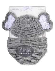 Baby Essentials Grey Diaper Bags