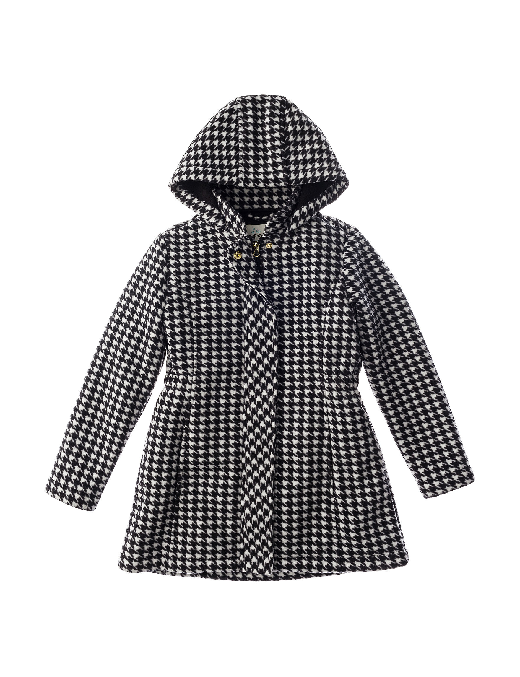 Sebby Collection Black / White Fleece & Soft Shell Jackets